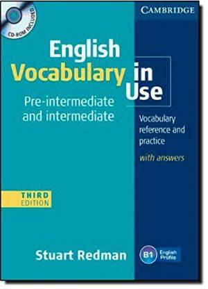Cuốn sách học từ vựng cho trình độ Tiếng Anh tiền trung cấp và trung cấp
