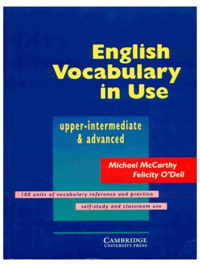cuốn sách từ vựng cho người học trình độ trên trung cấp và cao cấp