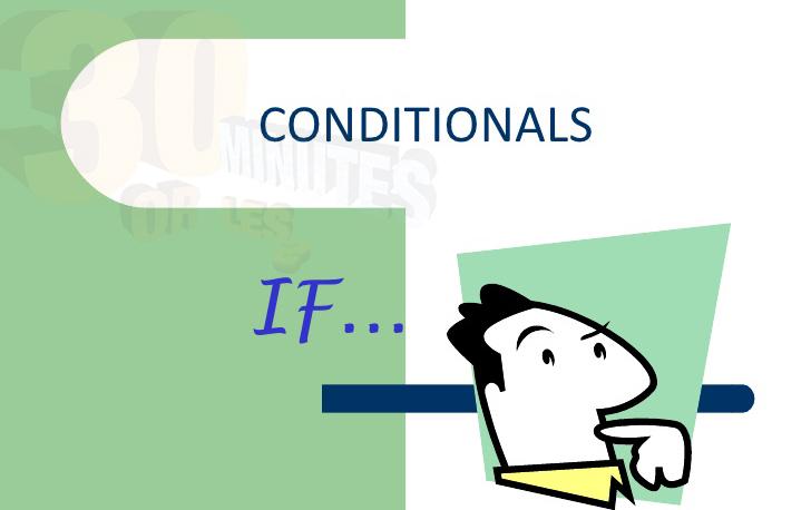 Học tiếng Anh: Câu điều kiện
