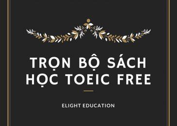 Trọn bộ sách học Toeic miễn phí