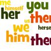 Đại từ trong tiếng anh dùng như thế nào?