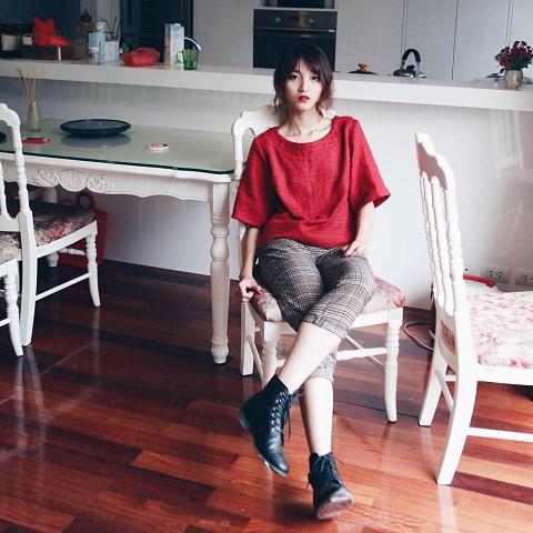 """Ms. Phương Trang còn có nickname là Trang """"Spoon"""", hiện còn là Chủ tịch của Club Event tại RMIT Hà Nội"""