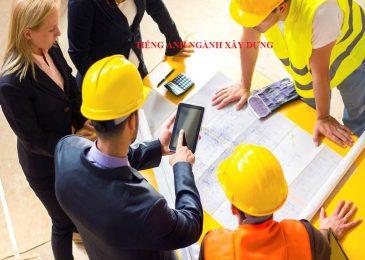 Tổng hợp từ vựng tiếng Anh ngành xây dựng cần thiết nhất