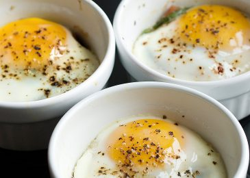 Oven-baked eggs: trứng bỏ lò