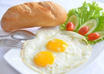 Fried eggs: trứng ốp
