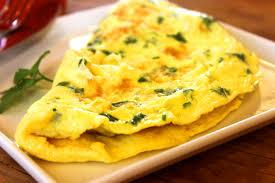 Omelette: trứng tráng