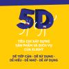 """5D – """"Công thức"""" và """"Chìa khoá"""" làm sản phẩm độc nhất của Elight!"""