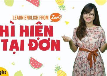 Học tiếng Anh: 10 phút nắm chắc cấu trúc, cách dùng thì hiện tại đơn trong tiếng Anh!