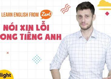 """TỔNG HỢP CÁC CÁCH """"XIN LỖI"""" LỊCH THIỆP NHẤT TRONG TIẾNG ANH!"""