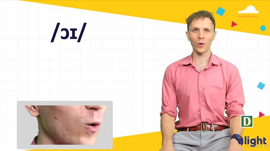 Cách phát âm âm ɔɪ