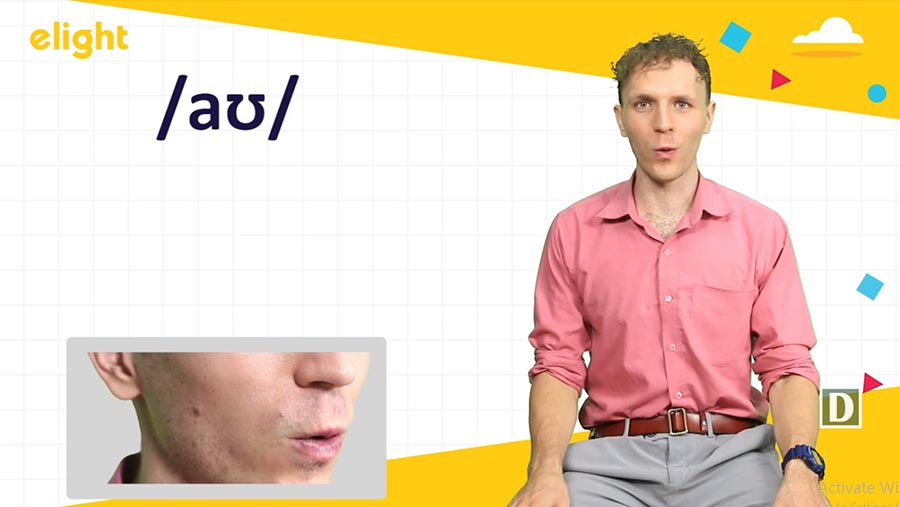 Cách phát âm aʊ