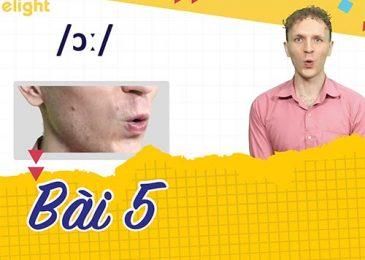 22 ngày học phát âm tiếng Anh cùng Elight – Ngày 5: Phát âm cặp âm /ɔː/ & /ɒ/