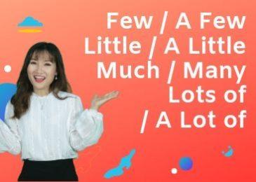 Phân biệt Little, A Little, Few, A Few, Many, Much Lot of và A Lot of