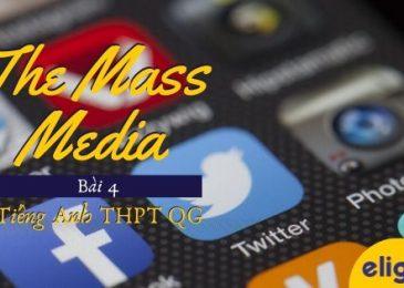 Từ vựng tiếng Anh lớp 12 – Unit 4: The mass media