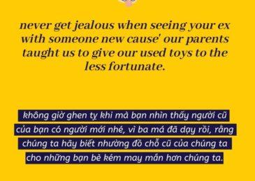 Cà khịa người yêu cũ trong tiếng Anh cũ cực gắt! Đọc vừa ngấm vừa buồn cười!