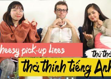 TOP 15 Câu Thả Thính Tiếng Anh Hài Hước Nhất – Pick-up Lines