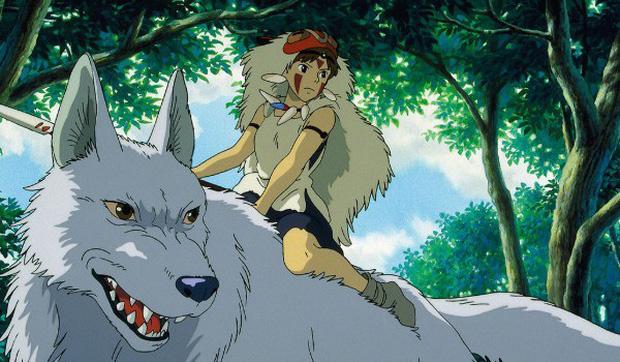 công chúa sói Mononoke hoạt hình ghibli hay