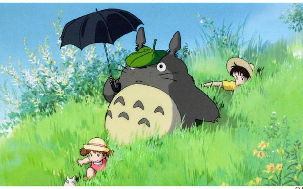 phim hoạt hình hàng xóm của tôi là totoro