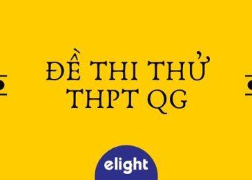 Tổng hợp Đề thi thử THPTQG môn Anh (download miễn phí và có kèm đáp án)