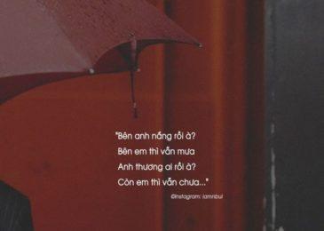 Những câu nói Chia Tay, Thất Tình bằng tiếng Anh // Break-up Quote