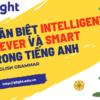 Phân biệt intelligent, clever và smart trong tiếng Anh