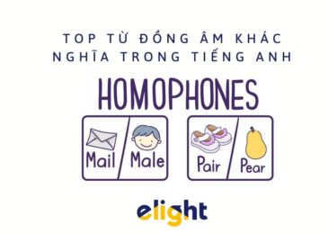 Top các từ đồng âm phổ biến trong tiếng anh (Homophones)