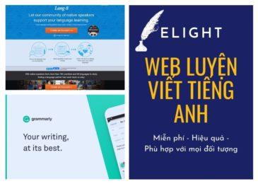 Top những trang web luyện viết tiếng Anh miễn phí