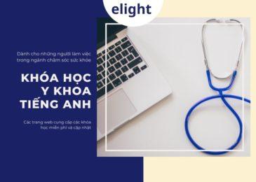 Các trang web học tiếng Anh chuyên ngành y khoa