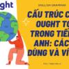 Cấu trúc của OUGHT TO trong tiếng Anh: cách dùng và ví dụ
