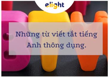 16 từ viết tắt tiếng Anh phổ biến bạn cần biết. Bạn biết được bao nhiêu?